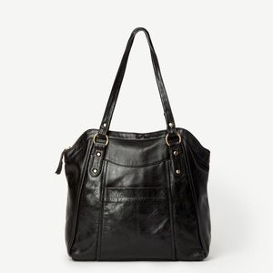 JOYN: KEYA Leather Tote Ethically Made Bag